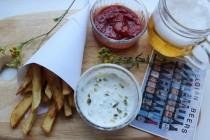 Картофель фри по-бельгийски