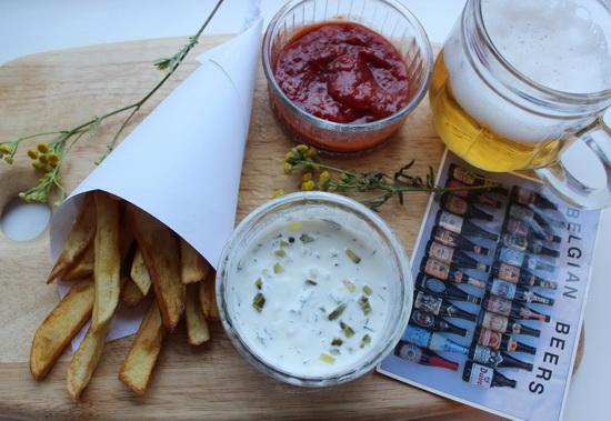картофель-фри по-бельгийски