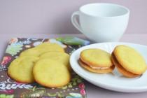 Апельсиновое печенье с полентой