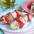 куриные шашлычки с болгарским перцем
