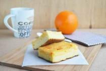 Творожный пирог с апельсиновой начинкой