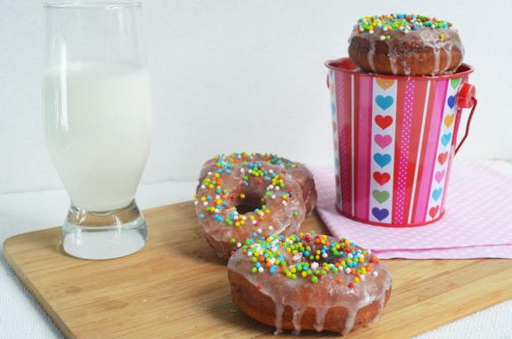американские пончики донатс