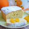 миндальный кекс с апельсиновым ароматом