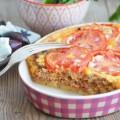 пирог с мясом и помидорами