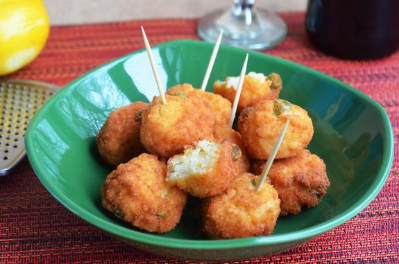 Аранчини - итальянские рисовые шарики
