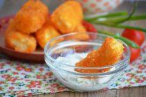 Картофельные крокеты в английской панировке
