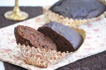 Пряный кекс с орехами и клюквой