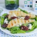 салат со шпинатом и грушей