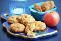 Печенье с яблоком и грушей