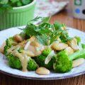 салат с фасолью и брокколи