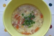 Низкокалорийный яичный суп