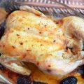 курица с финиками и хариссой