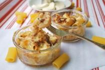 Моя классика. Запеченные макароны с сыром и мясным соусом (Mac and cheese)
