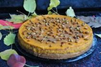 Тыквенно-кремовый торт на ореховом корже