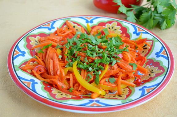 морковь с имбирем