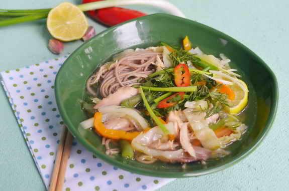 азиатский суп с собой