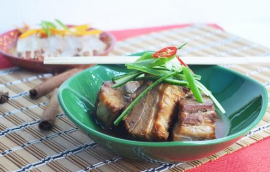 Свиная грудинка по-китайски в мастер-бульоне