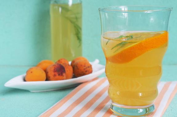 компот-щербет из абрикосов