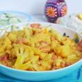 карри с цветной капустой из Кералы