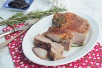 Свиная грудинка (подчеревина) в смородиновой глазури