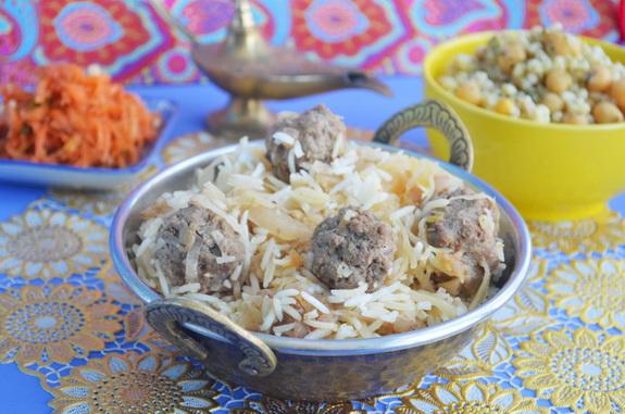 калам поло рис с капустой по-персидски