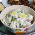 салат с редисом и творогом
