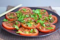 Азиатский салат из помидоров