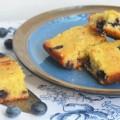 пирог с голубикой и кокосовой стружкой