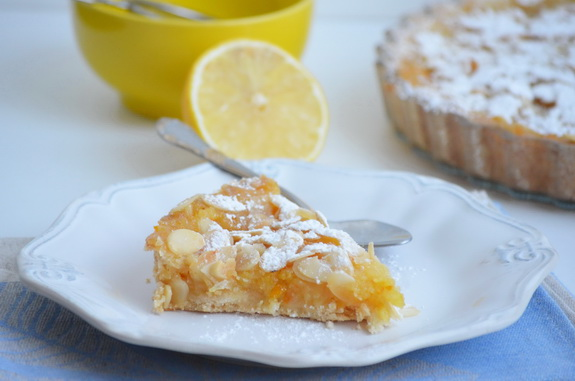 Польский лимонный пирог