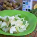 салат с сельдереем, фенхелем и цветной капустой