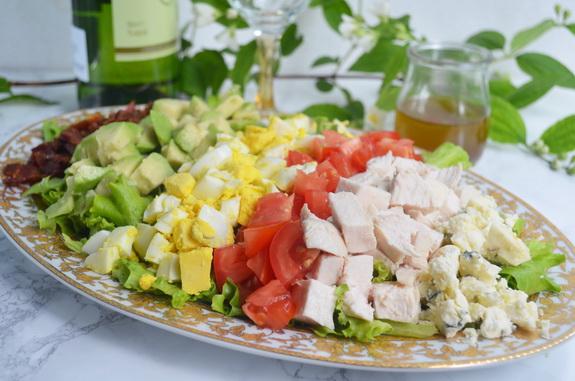 салат кобб