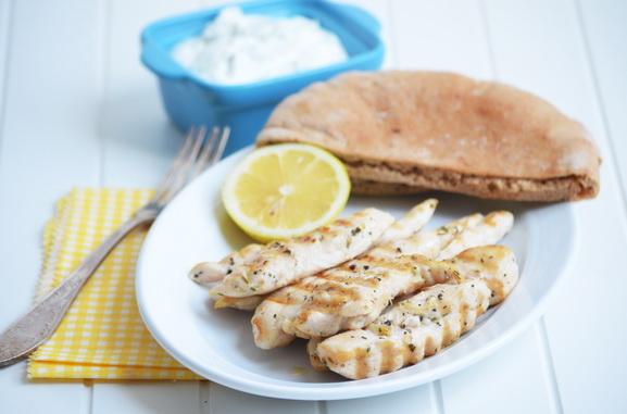 сувлаки греческие шашлыки из курицы
