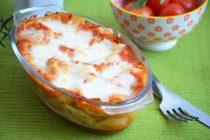 Лазанья со шпинатом и рикоттой