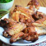 куриные крылья в медово-имбирной глазури
