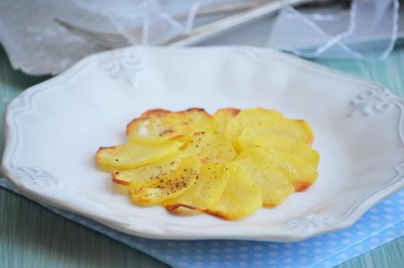 картофель анна - класический французский гарнир