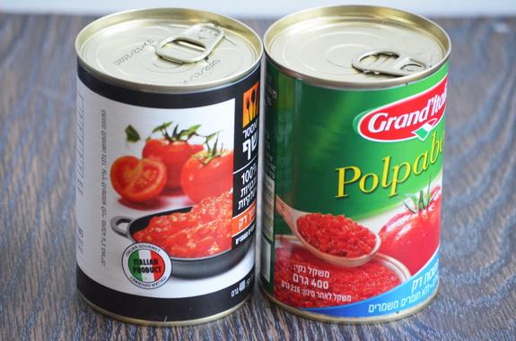 банки с помидорами для соусов