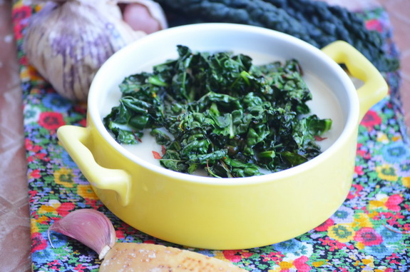 капустный суп с пармезановыми корками