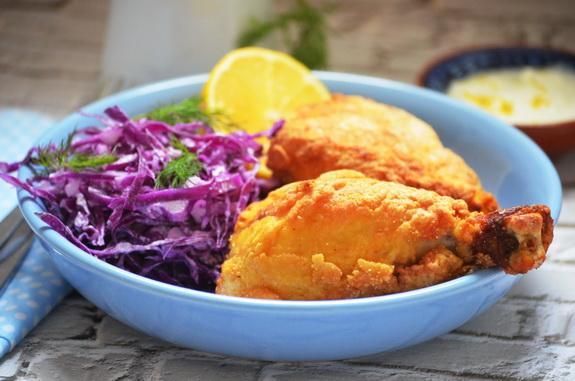 жареная курица в южном стиле