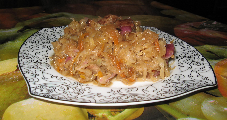 Рецепт бигуса с пошаговым фото