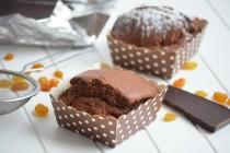 Шоколадные маффины с изюмом