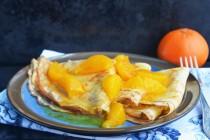 Креп-сюзет с мандариновым соусом