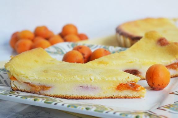 домашний пирог с фруктами