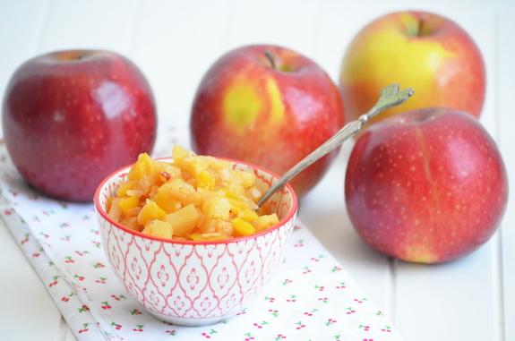 чатни с яблоками и перцем