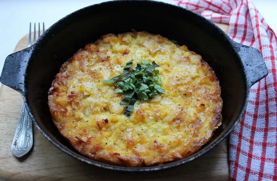 Испанский картофельный омлет