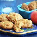 печенье с яблоками и грушами