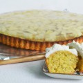 пирог с ананасом и фисташками