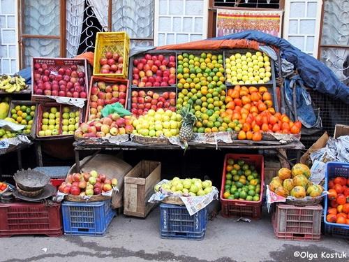 Рынок в Индии. Фото Ольги Костюк