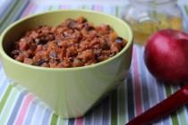 Чатни с баклажанами, яблоками и медом