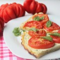 тарт с помидорами