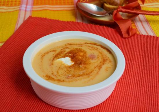 Кукурузный крем-суп со специями